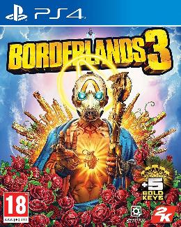 Carátula de Borderlands 3 para PlayStation 4
