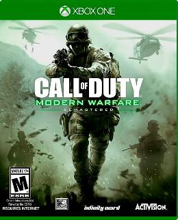 Carátula de Call of Duty: Modern Warfare Remastered para Xbox One