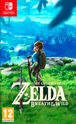 Carátula de The Legend of Zelda: Breath of the Wild para Nintendo Switch