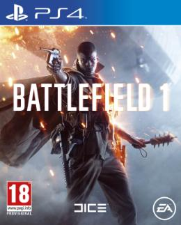 Carátula de Battlefield 1 para PlayStation 4