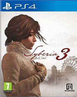 Carátula de Syberia 3 para PlayStation 4