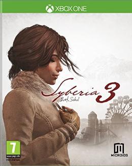 Carátula de Syberia 3 para Xbox One