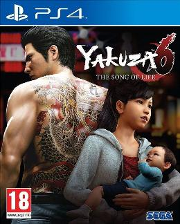 Carátula de Yakuza 6: The Song of Life para PlayStation 4