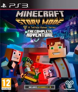 Carátula de Minecraft: Story Mode para PlayStation 3