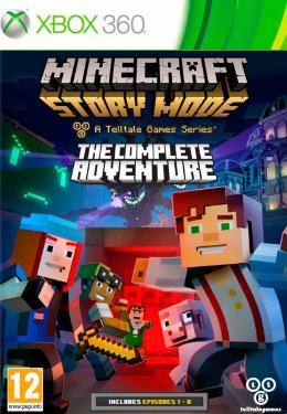 Carátula de Minecraft: Story Mode para Xbox 360
