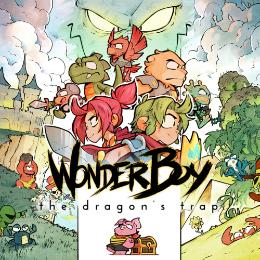 Carátula de Wonder Boy: The Dragon's Trap para PlayStation 4
