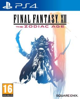 Carátula de Final Fantasy XII: The Zodiac Age para PlayStation 4