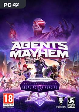 Carátula de Agents of Mayhem para PC