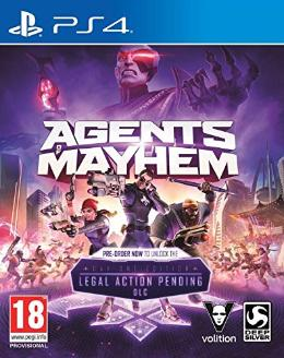 Carátula de Agents of Mayhem para PlayStation 4