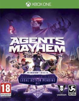 Carátula de Agents of Mayhem para Xbox One