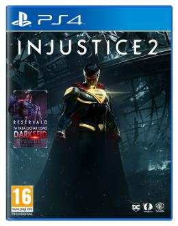 Carátula de Injustice 2 para PlayStation 4