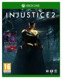 Carátula de Injustice 2 para Xbox One