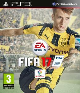 Carátula de FIFA 17 para PlayStation 3