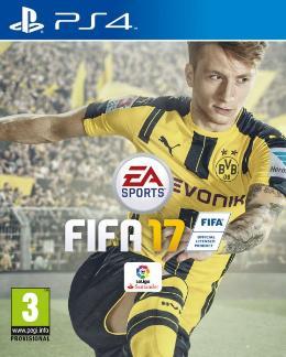 Carátula de FIFA 17 para PlayStation 4