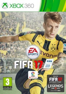 Carátula de FIFA 17 para Xbox 360