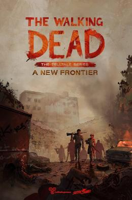 Carátula de The Walking Dead: The Telltale Series - A New Frontier para PlayStation 4