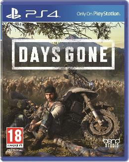Carátula de Days Gone para PlayStation 4