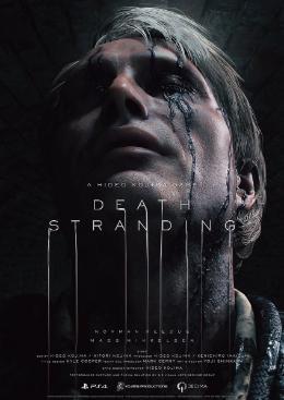 Carátula o portada Flier del juego Death Stranding para PlayStation 4