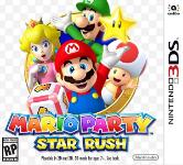 Carátula de Mario Party: Star Rush para Nintendo 3DS