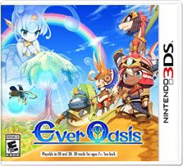 Carátula de Ever Oasis para Nintendo 3DS