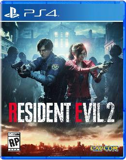 Carátula de Resident Evil 2 (2019) para PlayStation 4