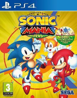 Carátula de Sonic Mania para PlayStation 4
