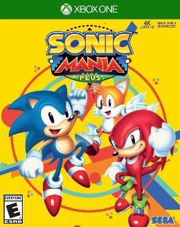 Carátula de Sonic Mania para Xbox One