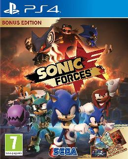 Carátula de Sonic Forces para PlayStation 4