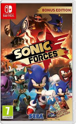 Carátula de Sonic Forces para Nintendo Switch