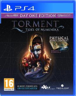 Carátula de Torment: Tides of Numenera para PlayStation 4