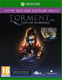 Carátula de Torment: Tides of Numenera para Xbox One