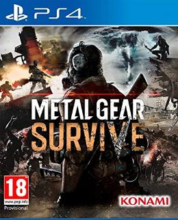Carátula de Metal Gear Survive para PlayStation 4