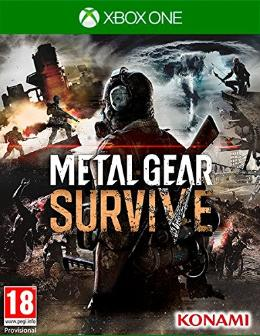 Carátula de Metal Gear Survive para Xbox One