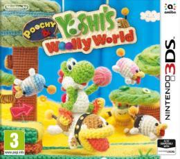 Carátula de Poochy & Yoshi's Woolly World para Nintendo 3DS