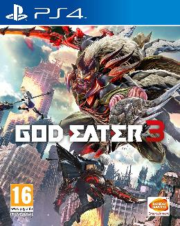 Carátula de God Eater 3 para PlayStation 4