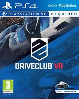 Carátula de Driveclub VR para PlayStation 4