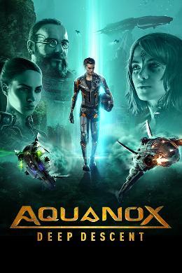 Carátula de Aquanox: Deep Descent