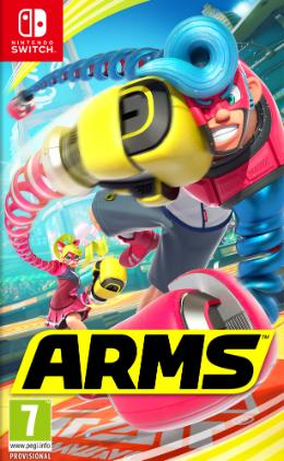 Carátula de ARMS para Nintendo Switch