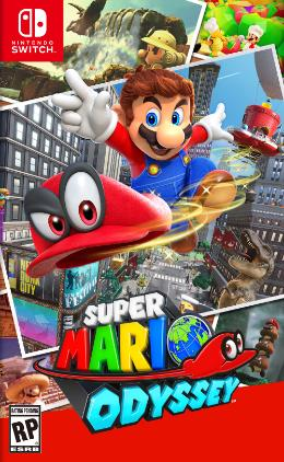 Carátula de Super Mario Odyssey