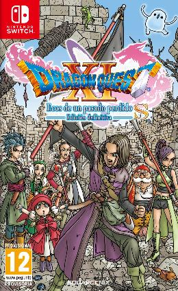 Carátula de Dragon Quest XI: Ecos de un pasado perdido - Definitive Edition