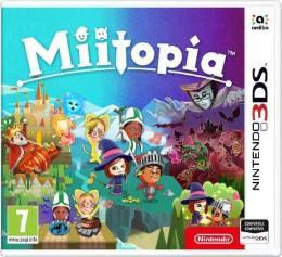 Carátula de Miitopia para Nintendo 3DS