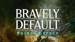 Carátula o portada Logo Oficial del juego Bravely Default: Fairy's Effect para iPhone / iPod Touch