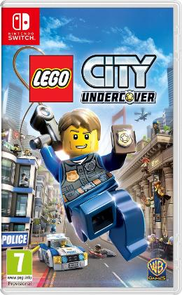 Carátula de Lego City Undercover para Nintendo Switch
