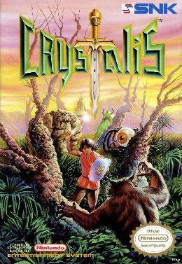 Carátula de Crystalis para NES