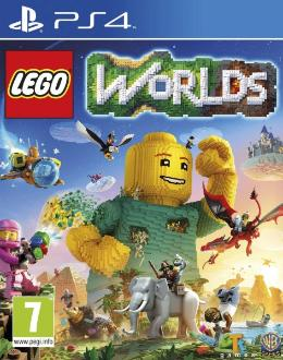 Carátula de LEGO Worlds para PlayStation 4