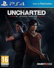 Carátula de Uncharted: El Legado Perdido para PlayStation 4