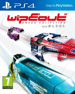 Carátula de WipEout Omega Collection para PlayStation 4