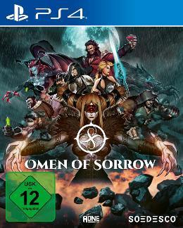 Carátula de Omen of Sorrow para PlayStation 4