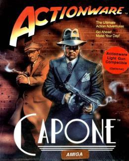 Carátula o portada EEUU del juego Capone para Amiga