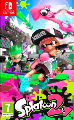 Carátula de Splatoon 2 para Nintendo Switch